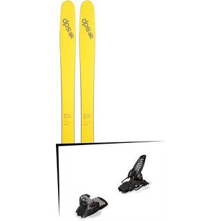 DPS Skis Set: Wailer 112 RP2 Pure3 2016 + Marker Griffon 13