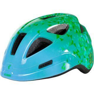Cube Helm Pro Junior, green triangle - Fahrradhelm