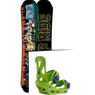 Set: Ride Kink 2017 + Burton Custom (1464184S)