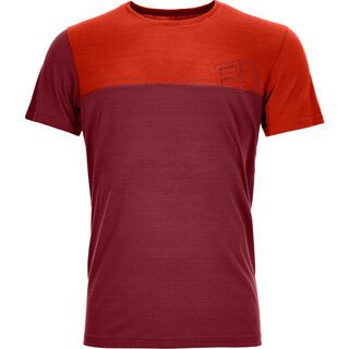 Ortovox 150 Cool Logo T-Shirt, dark blood - Funktionsshirt