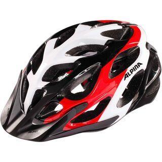 Alpina Mythos 2.0, black white red - Fahrradhelm