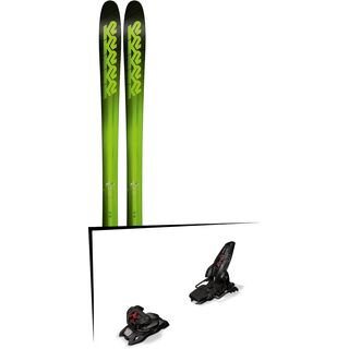 Set: K2 SKI Pinnacle 95 2018 + Marker Jester 16 ID black