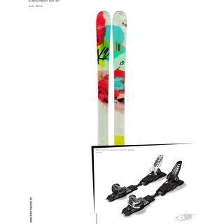 K2 SKI Set: MissConduct 2014 + Marker Griffon Schizo 13