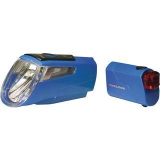 Trelock LS 460 I-Go Power / LS 720 - Beleuchtungsset, blue