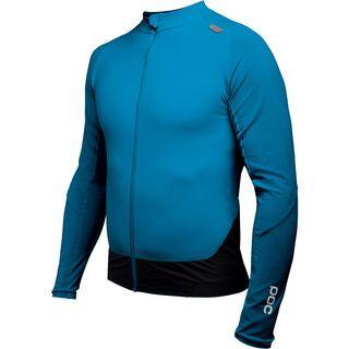 POC Resistance Pro XC Zip Jersey, furfural blue - Radtrikot