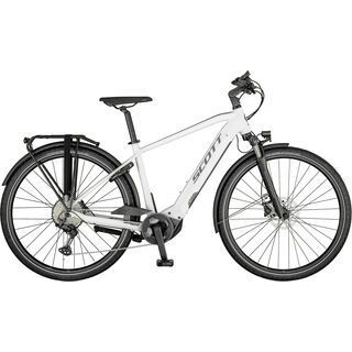 Scott Sub Sport eRide 10 Men gloss white/steel grey 2021