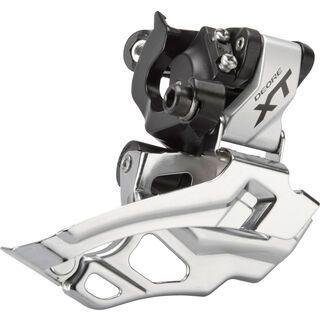 Shimano Umwerfer Deore XT FD-M786 2x10 Down Swing - Dual-Pull, silber