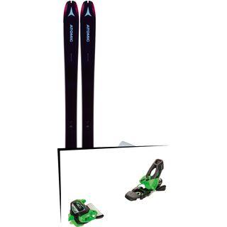 Set: Atomic Backland 85 W + Hybrid Skin 85 2019 + Tyrolia Attack² 11 GW green