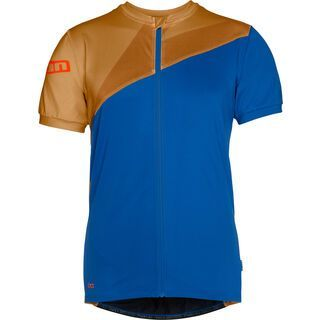 ION Tee Full Zip SS Zion, turkish blue - Radtrikot