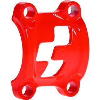 Cube Front Plates - Vorbauklemme, flashred - Zubehör