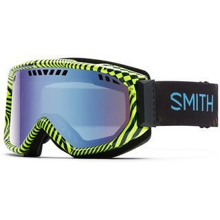 Smith Scope, neon blacklight/blue sensor mirror - Skibrille