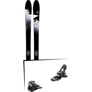 Set: Icelantic Sabre 89 2018 + Tyrolia Attack² 11 GW solid black