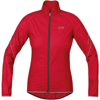 Gore Bike Wear Power Lady Jacket Windstopper Active Shell, rich red - Radjacke