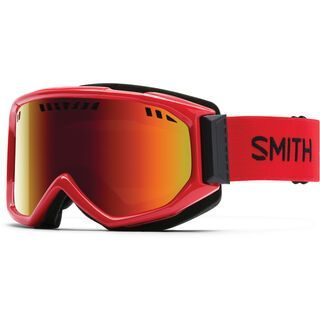 Smith Scope, fire/red sol-x mirror - Skibrille