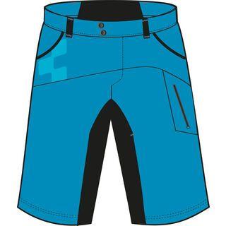 Cube Motion Shorts, blue - Radhose