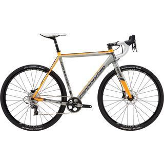 Cannondale SuperX Rival CX 1 2016, grey/orange - Crossrad
