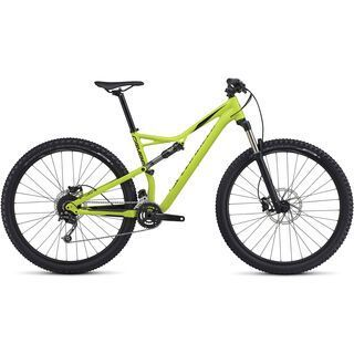 Specialized Camber FSR 29 2017, hy green/black - Mountainbike