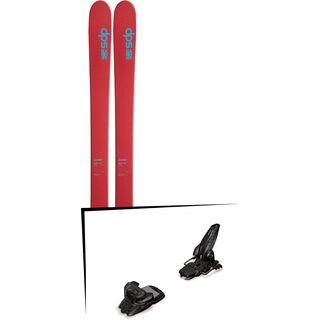 DPS Skis Set: Wailer 105 Hybrid T2 2016 + Marker Jester 16
