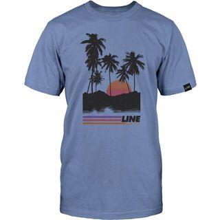 Line Dropout Tee, light blue - T-Shirt