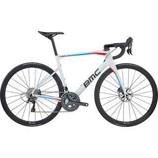 BMC Roadmachine 01 Ultegra 2017, white blue - Rennrad