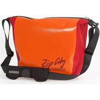 Ortlieb Zip-City, orange-rot - Messenger Bag