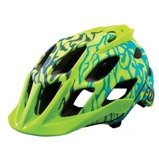 Fox Womens Flux Helmet, miami green - Fahrradhelm