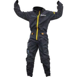 dirtlej DirtSuit Kids Edition, black blue/yellow - Rad Einteiler