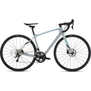 Specialized Ruby Comp Disc 2016, white/turquoise/charcoal - Rennrad
