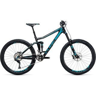 Cube Stereo 160 C:62 Race 27.5 2017, carbon´n´blue - Mountainbike