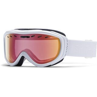 Smith Cadence + Spare Lens, white gbf/red sonsor mirror - Skibrille