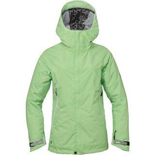 686 Women's GLCR Chrystal Jacket, Chartreuse - Snowboardjacke