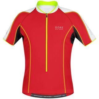 Gore Bike Wear Power Phantom 2.0 Trikot, red/white - Radtrikot