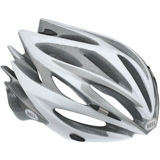 Bell Sweep, white/silver - Fahrradhelm