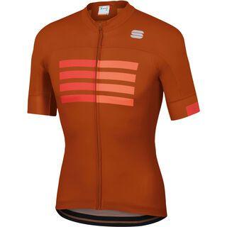 Sportful Wire Jersey, sienna/red/orange - Radtrikot