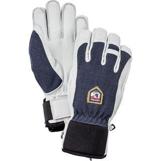 Hestra Army Leather Patrol 5 Finger, navy - Skihandschuhe