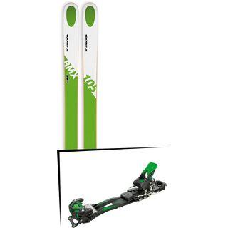 Set: Kästle BMX105 HP 2018 + Tyrolia Adrenalin 16 solid black flash green