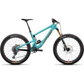 Santa Cruz Bronson CC XX1+ Reserve 2019, blue/gold - Mountainbike