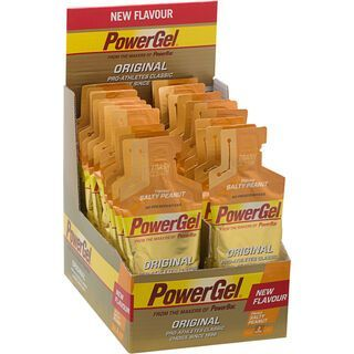 PowerBar PowerGel Original - Salty Peanut (Box) - Energie Gel