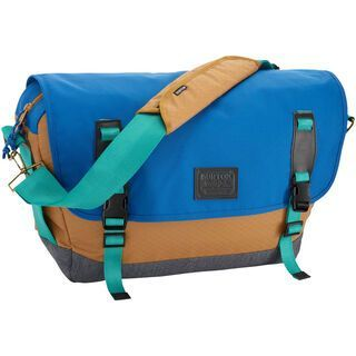 Burton Flint Messenger, Wood Thrush Diamond Ripstop - Messenger Bag