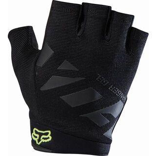 Fox Ranger Gel Short Glove, black - Fahrradhandschuhe