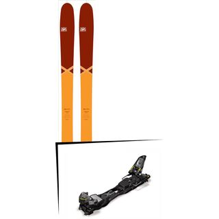 DPS Skis Set: Cassiar 95 Pure3 Special Edition 2016 + Marker F12 Tour EPF