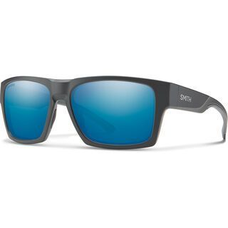 Smith Outlier XL 2 Chromapop Polarized Blue Mirror matte charcoal