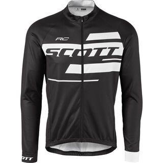 Scott RC Team 10 L/SL Shirt, black/white - Radtrikot