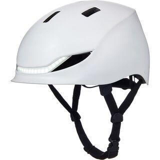 Lumos Matrix Helmet jet white