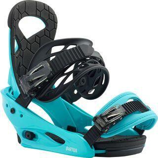 Burton Smalls 2020, surf blue - Snowboardbindung