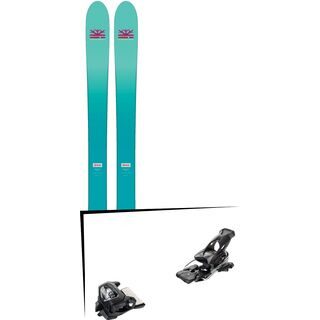 Set: DPS Skis Nina F99 Foundation 2018 + Tyrolia Attack² 16 GW solid black