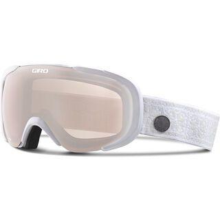 Giro Field, white nordic/rose silver - Skibrille