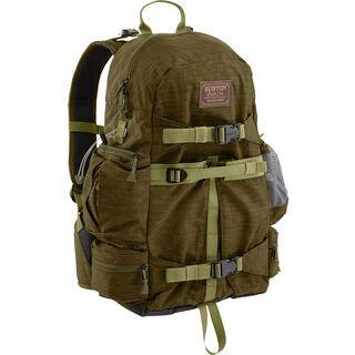 Burton Zoom Pack, drab crinkle - Fotorucksack