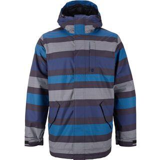 Burton TWC Greenlight Jacket, true black micro stripe - Snowboardjacke