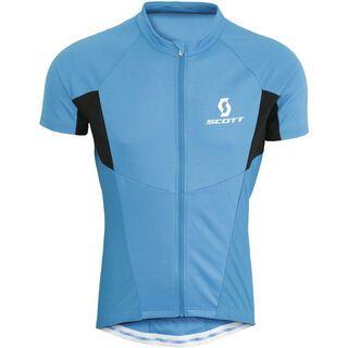 Scott Shirt Helium s/sl, blue - Radtrikot